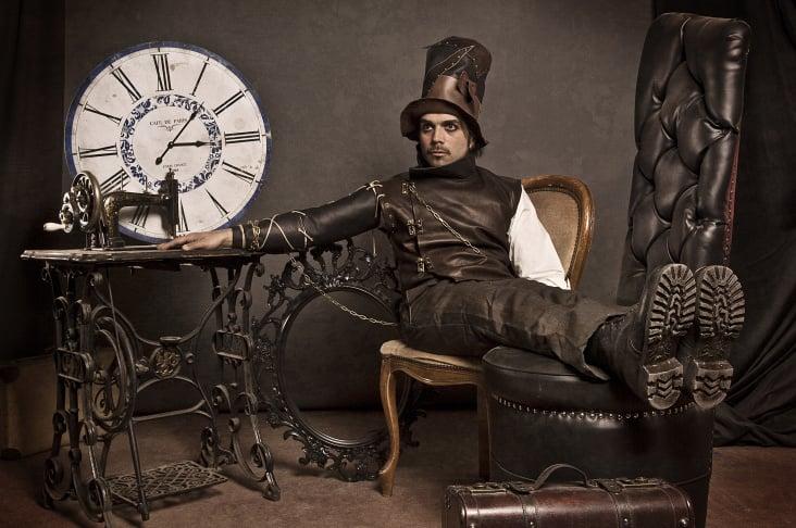 Fashion: Elfenrausch, Model: Hüseyin Yilmaz