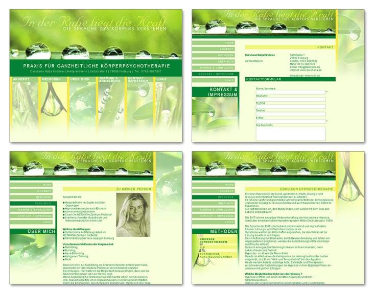 Homepage Gestaltung & Umsetzung