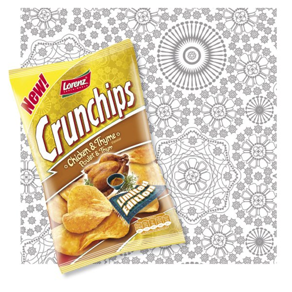 Package Illustration | Crunchips – Lorenz