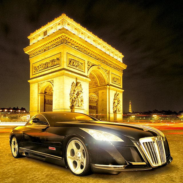 Maybach Excelero in Paris