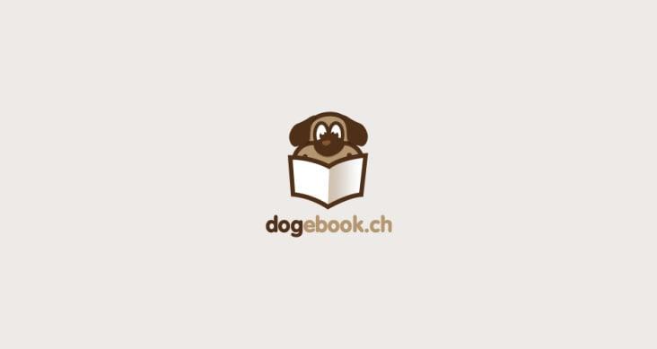 Logodesign dogebook.ch