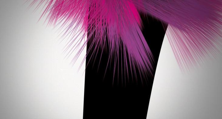 Pink Bird (Detail)