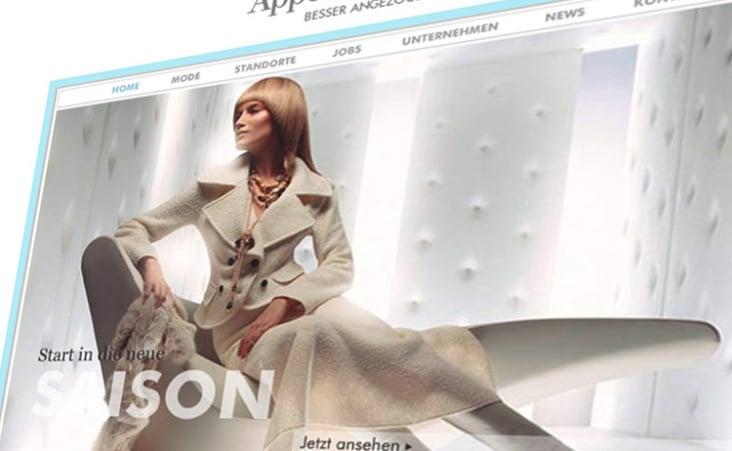 Website Mode – Design und Frontend