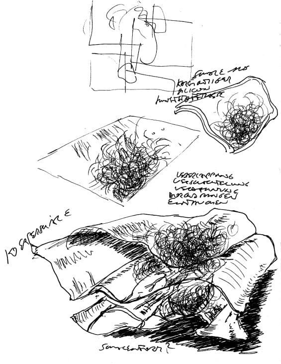 PATHFINDER Skizze. Digitale Bildmontage 1994