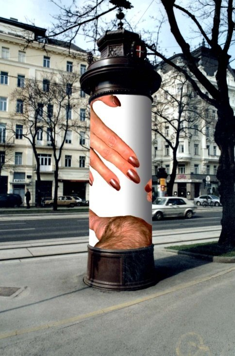 NUDES. Plakatserie 1999