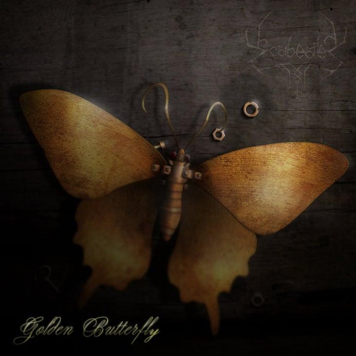 Scabeater – Golden Butterfly