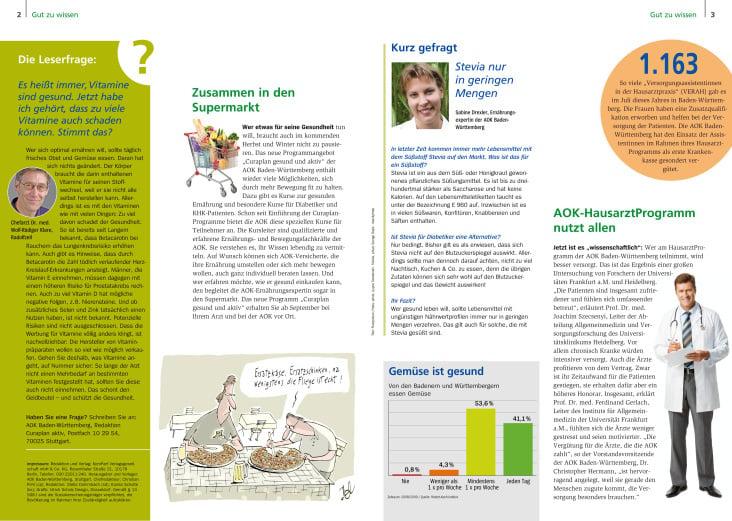 Curaplan aktiv– Ausgabe 2/2012