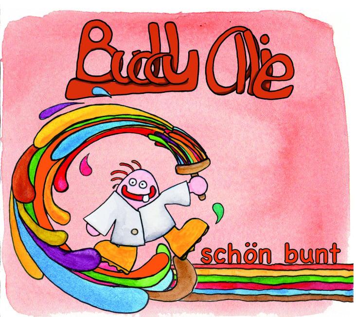 CD-Gestaltung für Buddy Ollie