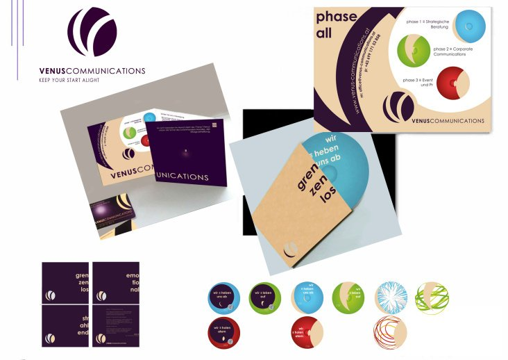 Logo Redesign, CI, CD, Special Edition für VenusCommunications