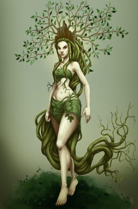 dryadenkönigin