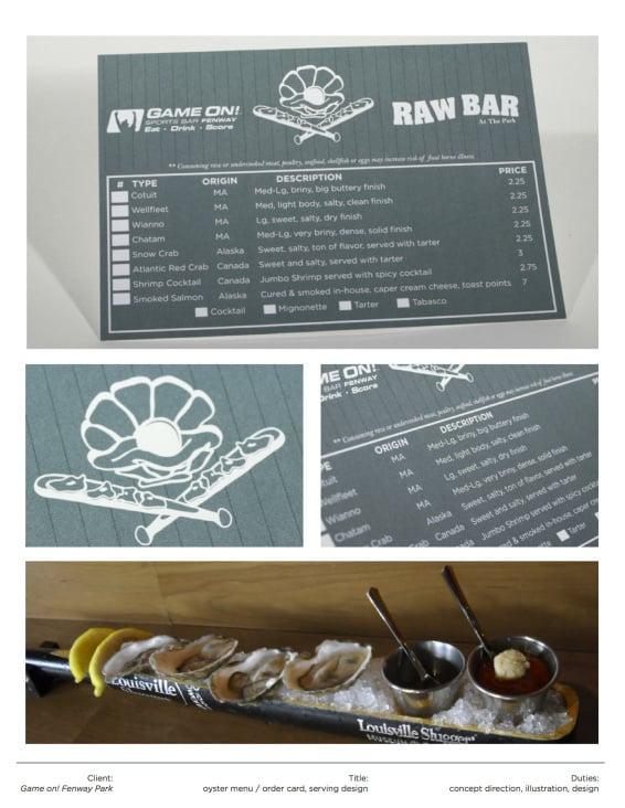Oyster Bar Design / Lyons Group Inc.