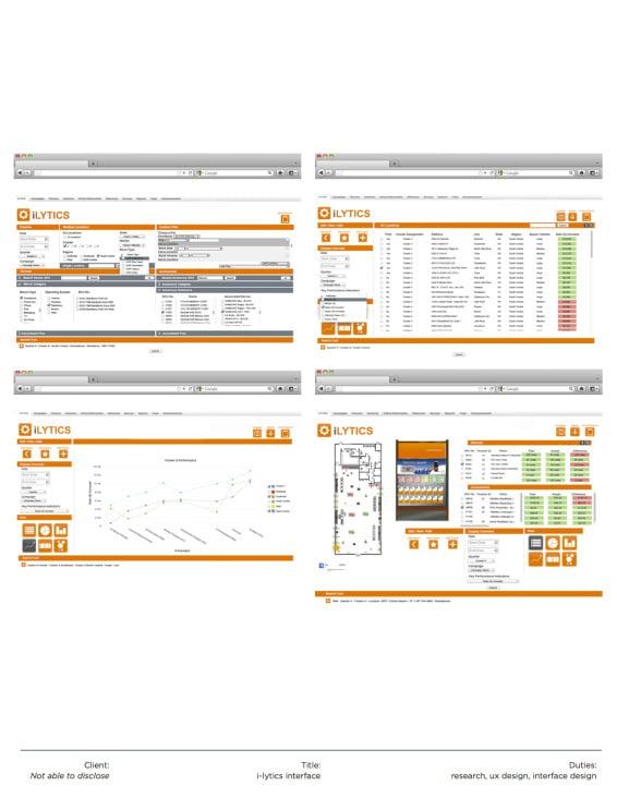 Interface Design / RBM Technologies