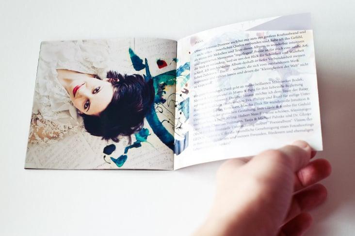 CD Booklet Innenseiten