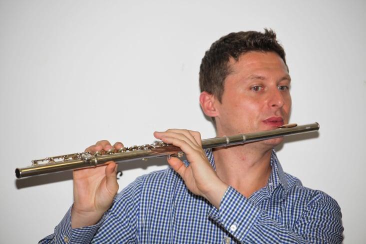 Reportagephoto bei einem Flötenworkshop 2