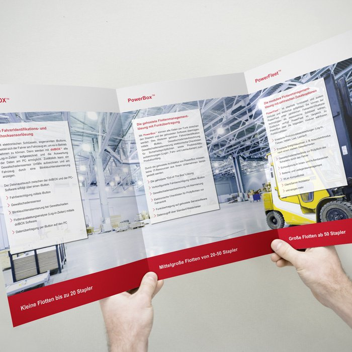 Flyer DIN A4 Format– ID Systems GmbH