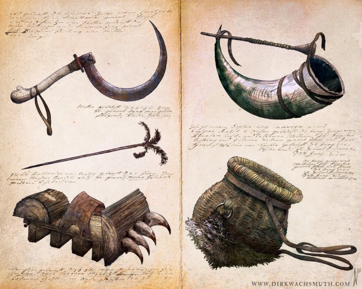 Items of the Swamp Witch