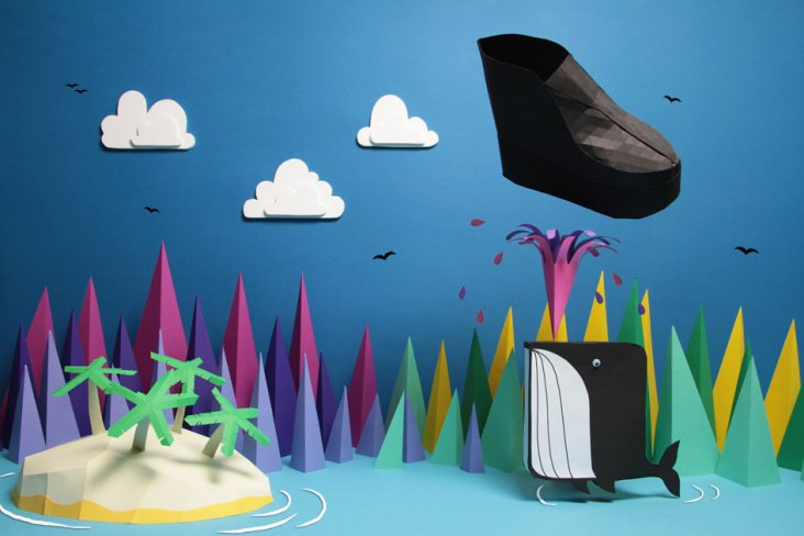 monki magazine / paper craft