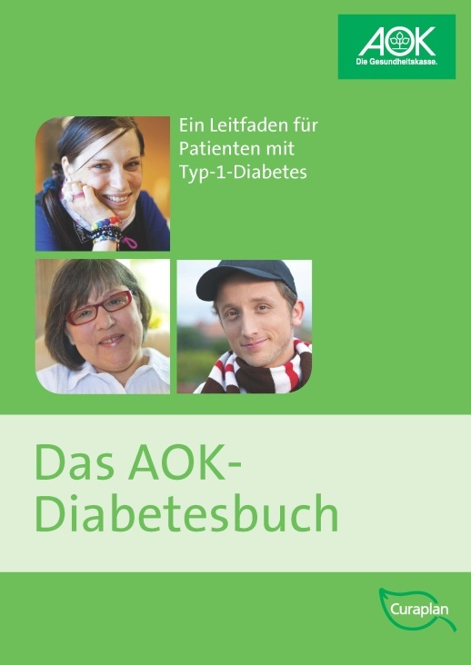 AOK Diabetesbuch – Cover