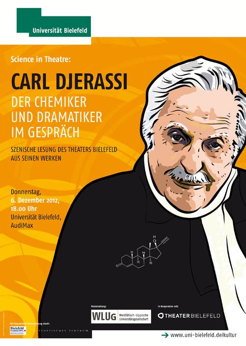 Carl Djerassi: sience in theatre 2012