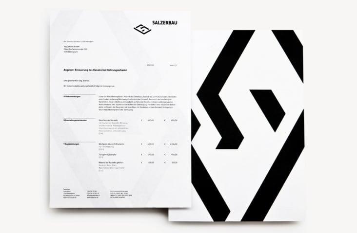 Salzerbau Briefpapier