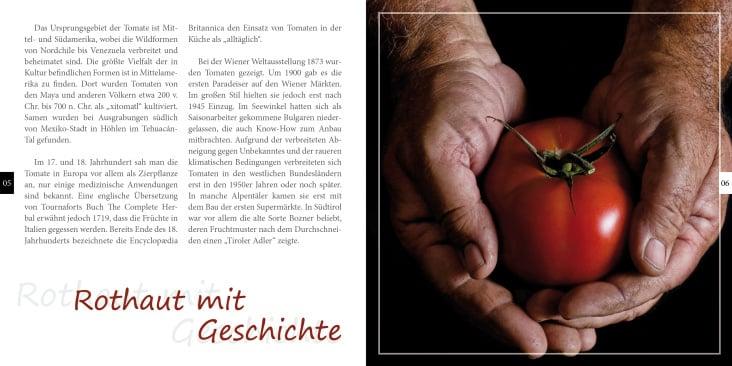 Innenseiten Tomatenbroschüre