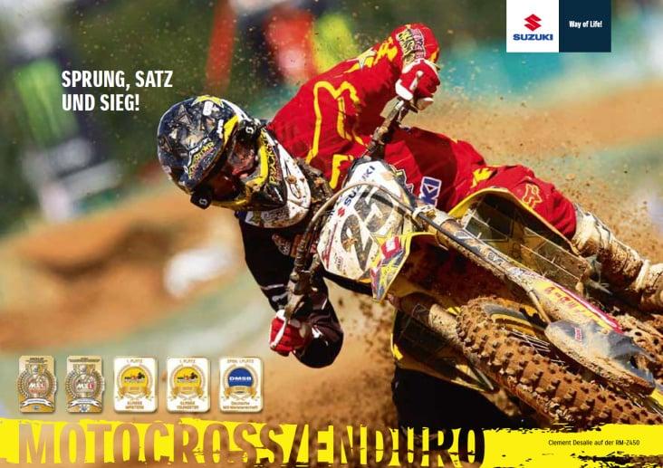 "Titel Broschüre ""Motocross"""