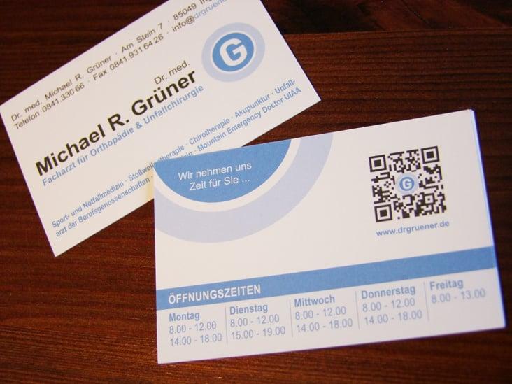 Dr. med. Grüner – Orthopädie / Unfallchirurgie