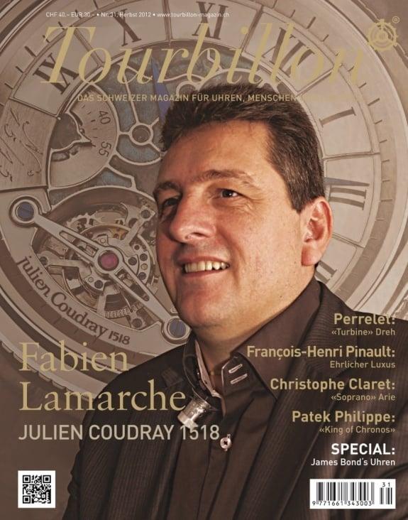 Das Schweizer Magazin für Uhren, Menschen und Lifestyle