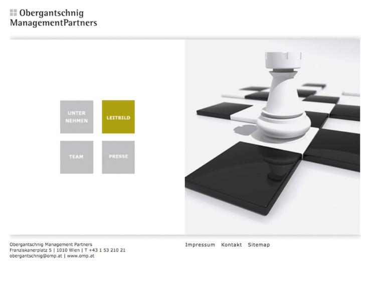 Webdesign – Management Partners