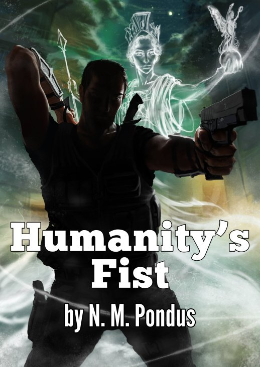 """Humanity's Fist"" Buchcover"