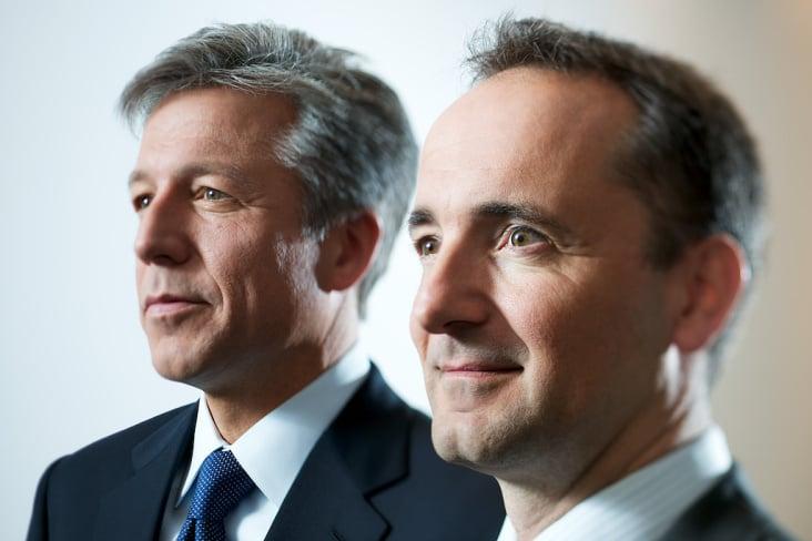 Bill McDermott und Jim Hagemann Snabe, SAP AG