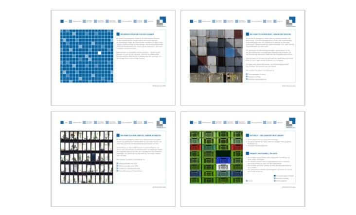 Mosaik Personalagentur. Konzept und Webdesign.