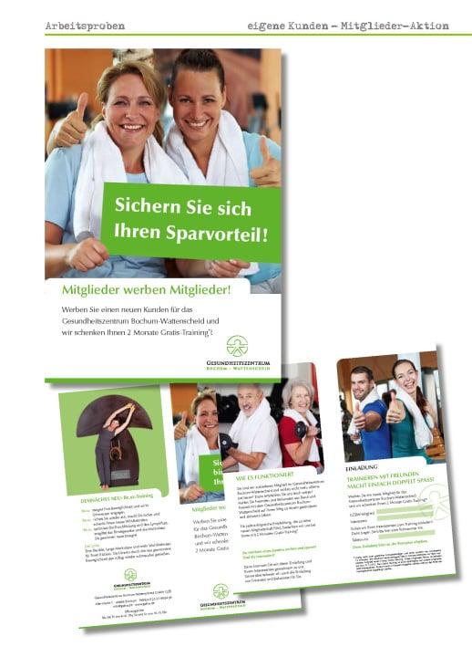 Mitgliederaktion GZBW – Printkampagne –