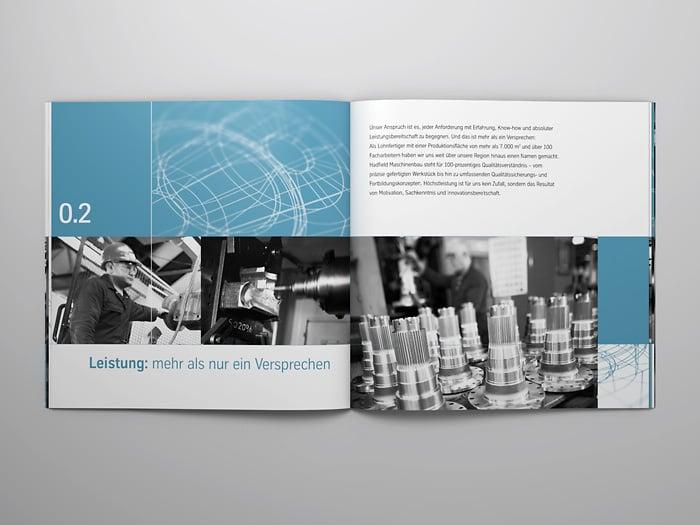corporate design f r hadfield maschinenbau von ag visuell alexander gelin dasauge. Black Bedroom Furniture Sets. Home Design Ideas