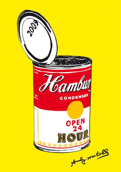 im Stil von Andy Warhol