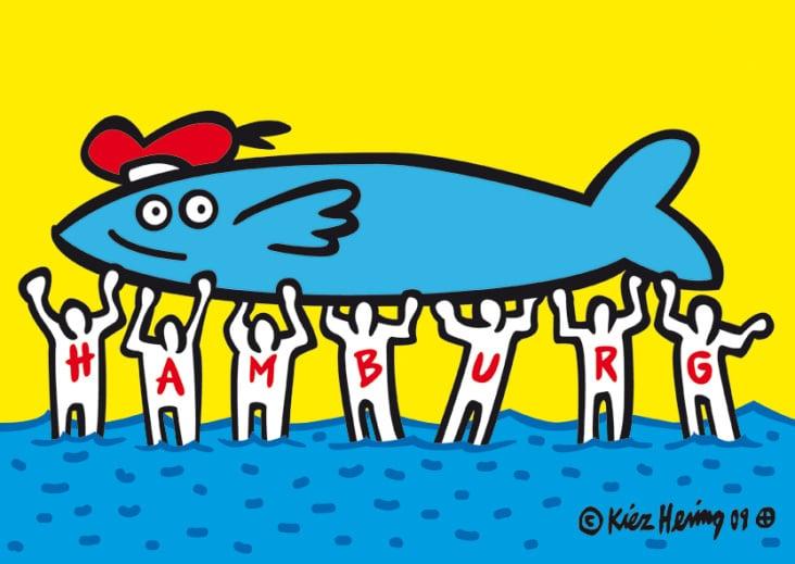 im Stil von Keith Haring