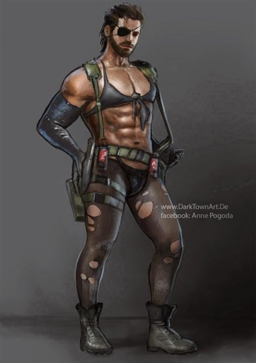 Metal Gear Solid V Parodie: Big Quiet Boss