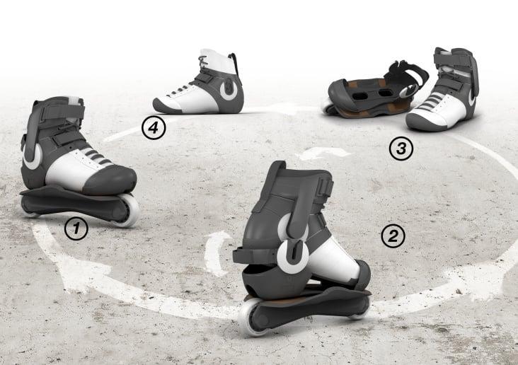 Freestyle-Inline-Skate : comodo