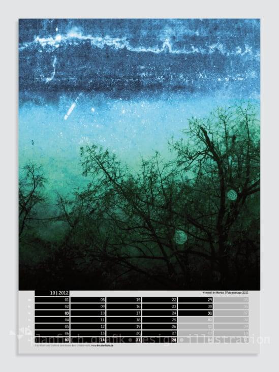 Gestaltung des Planfisch-Kalenders 2012
