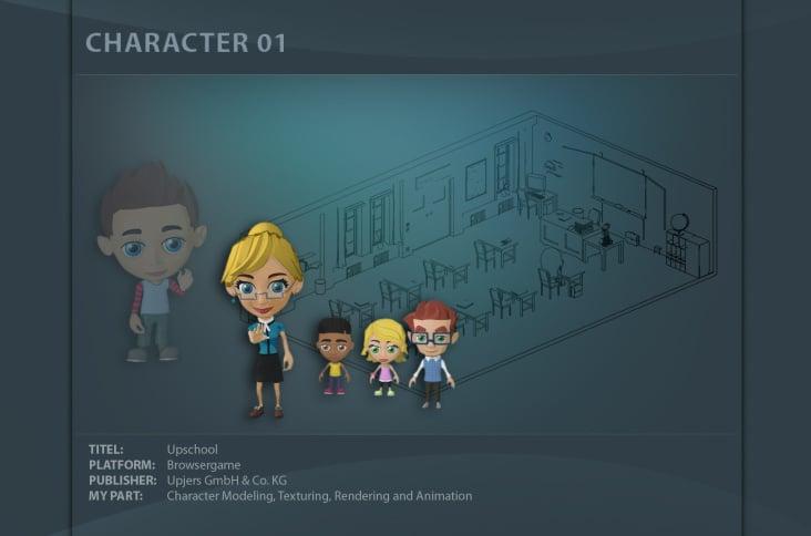 "Character für Browsergame ""Upschool"""