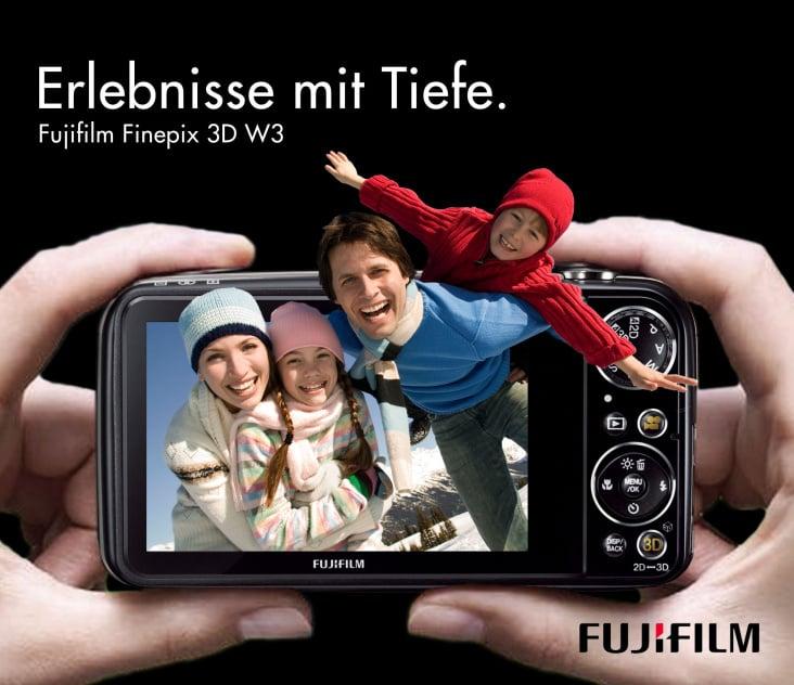 Erlebnisse mit Tiefe– Fujitsu 3D Kamera