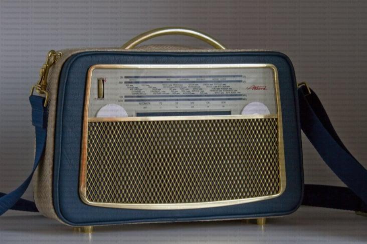 Radiohandtasche – Radio trifft Handtasche #3» de manamana
