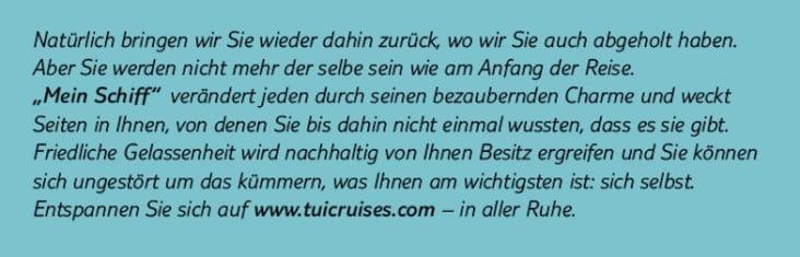 5 TUI Cruises Spur Text