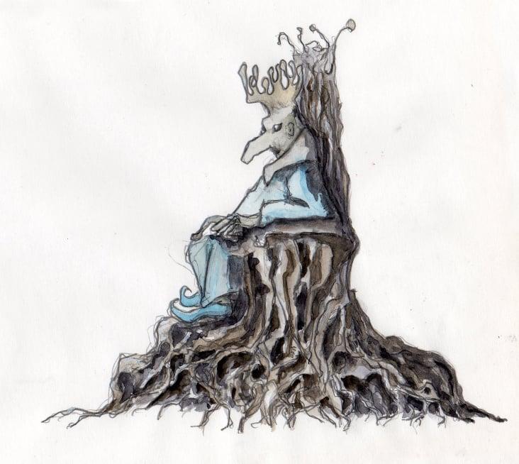 dre graue könig