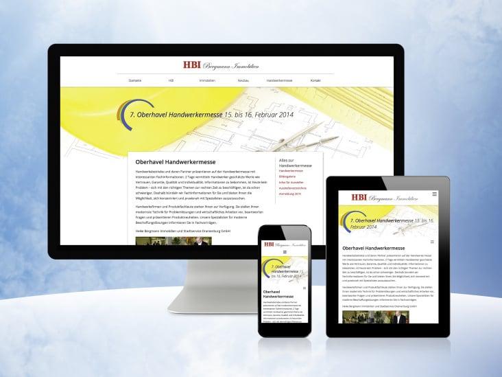 HBI Webseite Oberhavel Handwerkermesse
