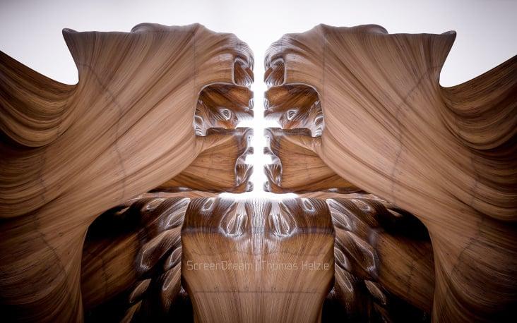 """Hilbertarium"" Wood"