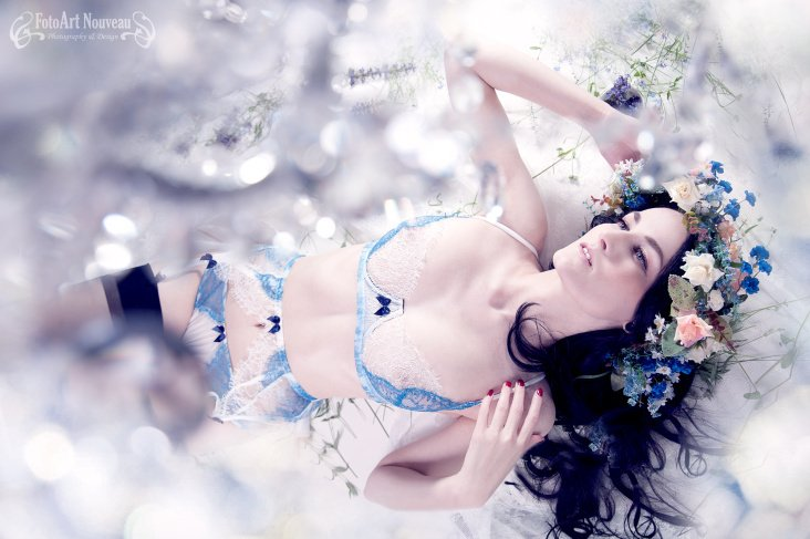 "Lingerie spring 2014 from ""Lost in Wonderland"""