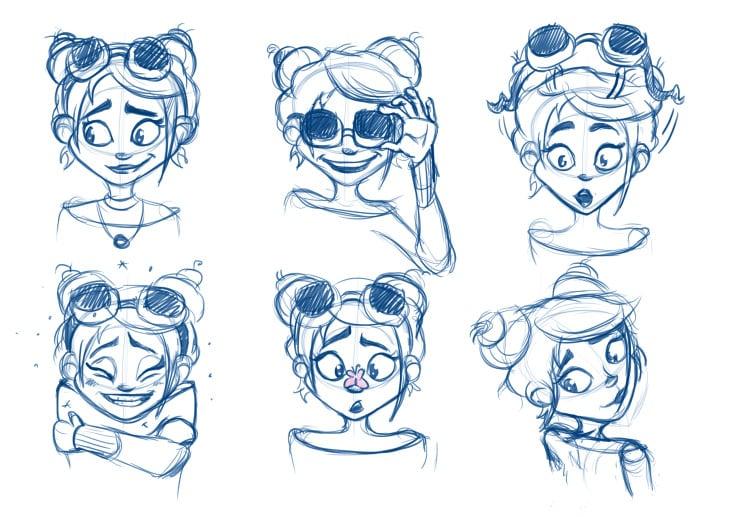 Ani-Facial expressions 2