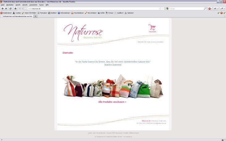 Webshop Naturrose