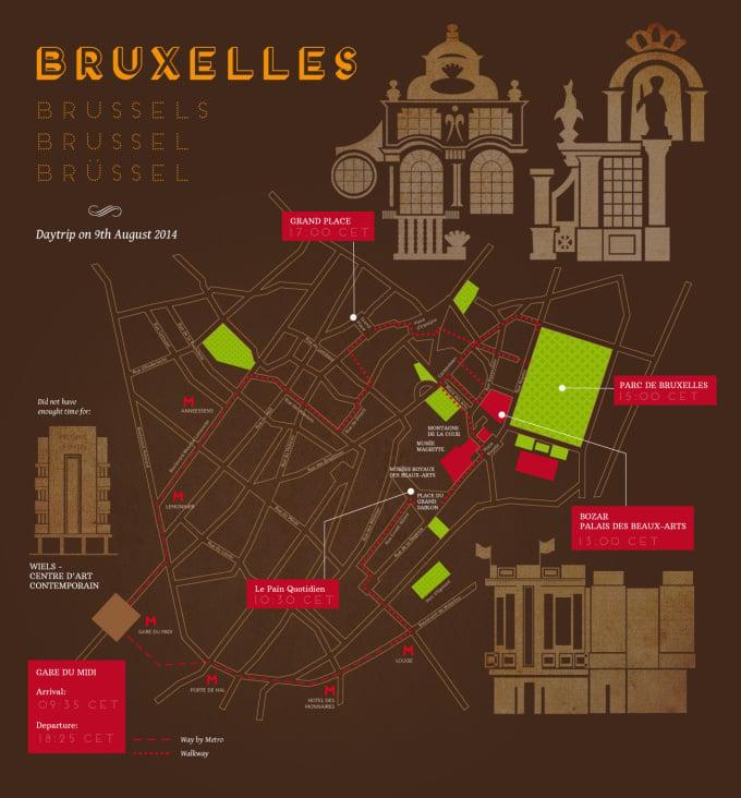 Brüssel. Tagestour